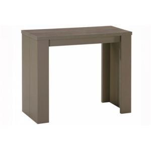 Console taupe comparer 89 offres - Menzzo table console ...