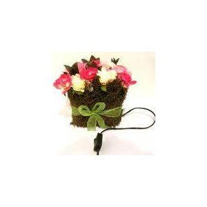 B.E.C. Lampe rectangulaire Bouquet  20 roses lumineuses