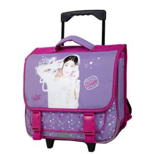 Cartable trolley Violetta Disney 38 cm