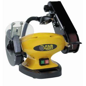 Far Tools SBG 150 - Touret à meuler 400W avec bande abrasive et lampe