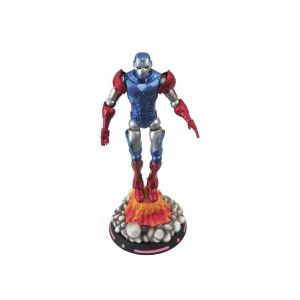 Diamond Select Toys Figurine Marvel Captain America Iron Man 18 cm