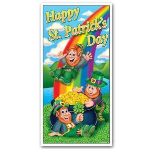 Décoration de porte Happy St-Patrick s Day