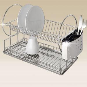 Wenko Egouttoir à vaisselle en inox