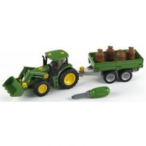 Klein 3905 - Tracteur John Deere avec remorque