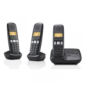 telephone fixe trio avec repondeur comparer 54 offres. Black Bedroom Furniture Sets. Home Design Ideas
