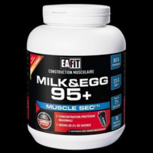 EA Fit Proteines Milk & Eggs 95 micellaire chocolat 750 g