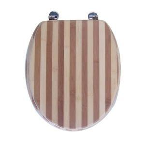 Galedo A3162200062 - Abattant siège WC en bois compressé mdf standard charnières en inox