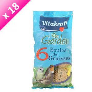 Vitakraft Boules de graisse 6 pieces - Pour oiseau - 540g (x18)