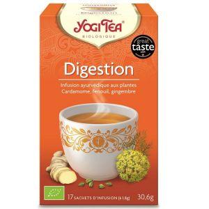 Yogi Tea Thé Ayurvédique Digestion - Boîte de 17 sachets
