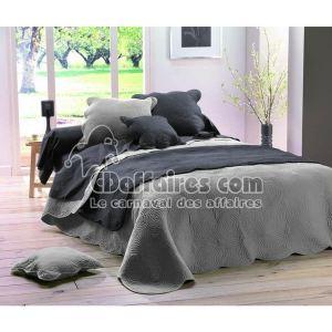 Couvre-lit boutis matelassée en coton (220 x 240 cm)