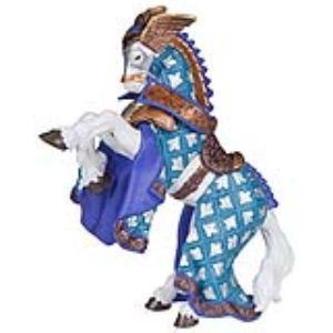 Papo Figurine Cheval du maître des armes aigles