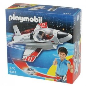 Playmobil 4342 - Avion à réaction à Emporter