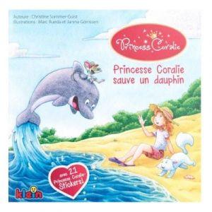 Klein Livre princesse Coralie sauve un dauphin