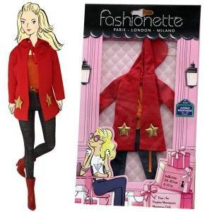 """Fashionette Look """"Keira"""" : Jeans slim, tee-shirt orange et veste à capuche pour Barbie, Steffi, Disney Princesse et Pulipp"""
