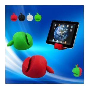 Support en forme de Pomme silicone pour tout iPad