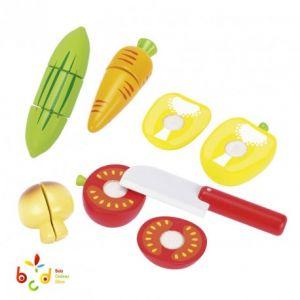 Goki 51598 - Légumes en bois avec scratch