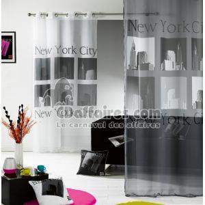 Voilage à oeillets imprimé Urban Pop (140 x 240 cm)
