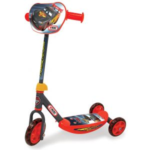 Smoby Patinette 3 roues Cars Carbone