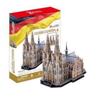 CubicFun Allemagne : Cathédrale de Cologne - Puzzle 3D 179 pièces
