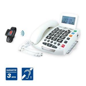 Sedea FamilyPhone - Téléphone senior avec bracelet SOS