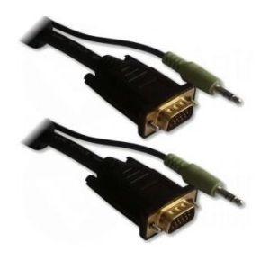Lineaire Adaptateur VGA HD15 + audio