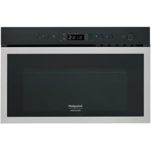 Hotpoint MN 613 IXHA - Micro-ondes avec fonction grill encastrable