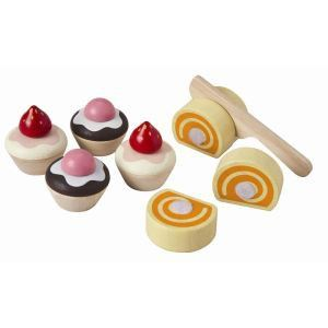 Plan Toys PT3468 - Assortiment de gâteaux