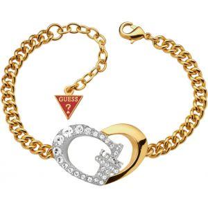 Guess UBB11495 - Bracelet coeur doré pour femme
