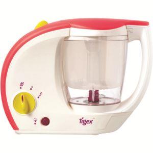 Tigex Bébé Gourmet - Cuiseur vapeur mixeur naturel