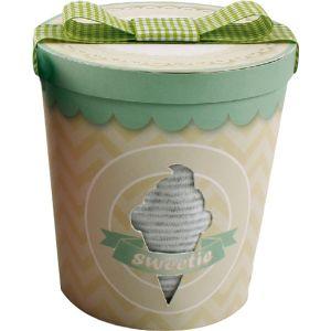 Bulle de BB Coffret pot de glace : dors bien + bonnet + bandana