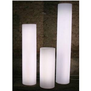 Slide Cylindre lumineux design (80 cm)