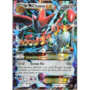 Asmodée Méga Cizayox Ex - Carte Pokémon XY Rupture Turbo