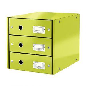 Leitz Bloc de classement à tiroirs Click & Store Vert