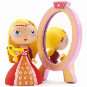 Djeco Figurine Arty Toys - Les princesses : Nina & Ze mirror
