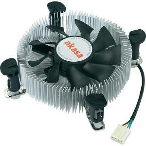Akasa AK-CCE-7106HP - Ventilateur de processeur Low Profil  socket LGA775 and LGA115X
