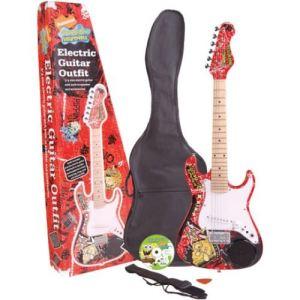 bob l eponge sbe34oft guitare electrique 3-4