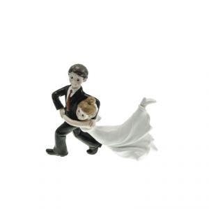Chaks 80166 - Figurine en résine Couple de Mariés Danseurs
