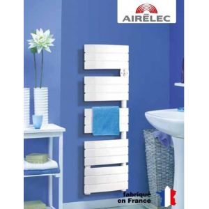 Airelec A691547 - Radiateur sèche-serviettes Anthéa 1600 Watts