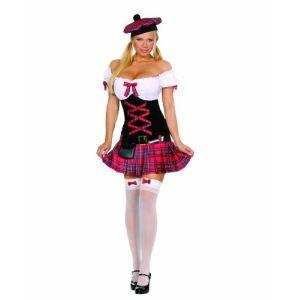 César Déguisement Dreamgirl écossaise (taille S ou M)