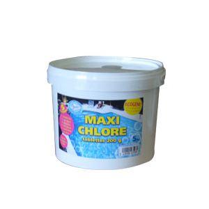 AB7 Industries Maxi Chlore Ecogene en tablettes de 200 g - 5 kg
