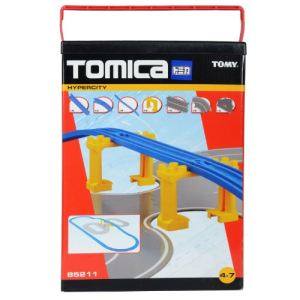 Tomy Circuit de train et ville Tomica  - Coffrets extension route et rails