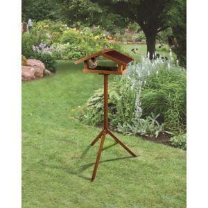 Zolux Mangeoire à oiseaux Eco en bois sur pied