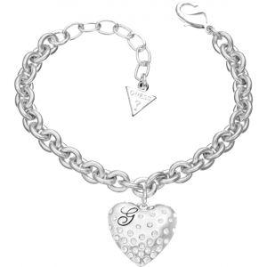 Guess Ubb51440 - Bracelet en métal argenté pour femme