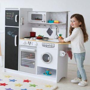 cuisine kidkraft jeu d 39 imitation cuisine en bois et dinette enfant. Black Bedroom Furniture Sets. Home Design Ideas
