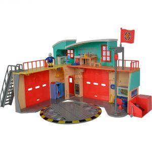 Simba Toys Nouvelle caserne de pompiers Sam le pompier