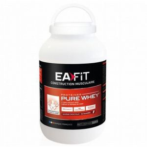EA Fit Construction musculaire pure whey chocolat