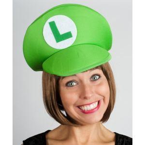 Chapeau Luigi vert