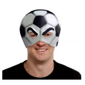 Masque ballon de football