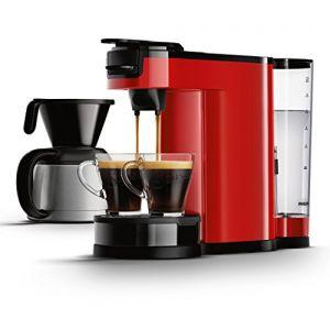 cafetiere senseo rouge philips comparer 16 offres. Black Bedroom Furniture Sets. Home Design Ideas