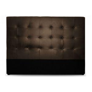 Menzzo Tête de lit capitonnée en simili cuir (122 x 140 cm)